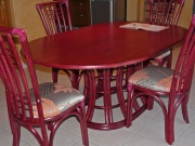 Table Saint Cyr Ovale Avec 2 Allonges -